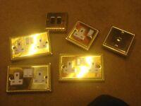 gold plug sockets