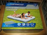Camping Gaz Convertible Quickbed™ Airbed Camping Single / Double Used Once Cost £40 Bargain £25