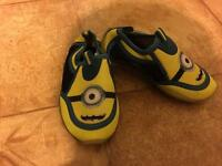 Despicable me swim shoe size uk c8 very good condition