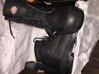 Steel Toe work boots size 10
