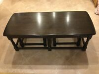 Ercol Old Colonial Trinity Coffee/Occasional Tables