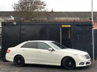 ★ 2010 MERCEDES E CLASS E220 CDi BlueEFFICIENCY SPORT + ALLOYS + TINTED + LEATHERS ★
