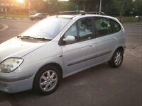 Renault Scenic 1598cc Automatic 2001 reg, 11 months mot,part leather,pas,e/wins,new tyres, nice auto