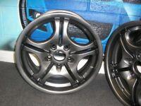 "Set of 4 genuine 17"" 17 inch BMW M Sports alloy wheels alloys anthracite"
