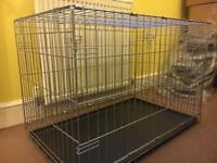 Dog cage medium size.