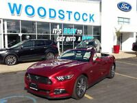 2015 Ford Mustang GT CONVERTABLE, RUBY RED