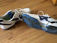 Men's tennis shoes Acics size 10