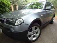 CHEAP CAR BMW X3 2.5 SPORT 4X4 JEEP X1 X3 X5 LIKE NISSAN X TRAIL HONDA FRV FDV NISSAN QASHQAI