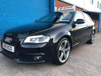 2011 AUDI A3 SLINE SPORTBACK BLACK EDITION NOT AUDI A4 A5 BMW 1 series
