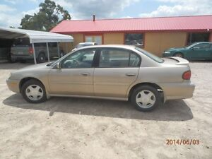2000 Chevy Malibu LS sedan as is