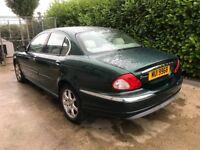 2003 Jaguar X Type Racing Green