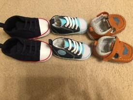 New baby boy pre-walker shoes 3-12 months)