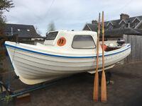 Orkney Longliner 16' Fibreglass Boat