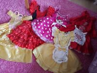 Fancy dress costumes aged 3-4 - ideal for Book Week!
