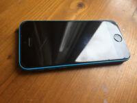 Blue iPhone 5c 16gb unlocked