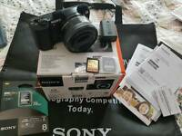 Sony a5100 and extras