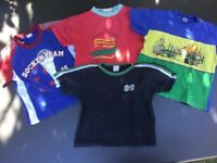 Bundle of 4 Boy's T-shirts for size 98 / approx 3 years
