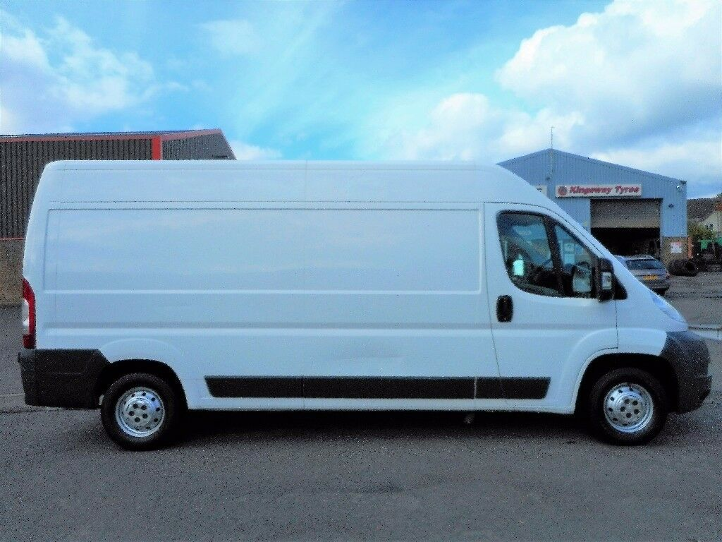 FINANCE ME!! NO VAT!! Citroen relay 2.2hdi lwb panel van with only 77k from new and only 1 owner!!..