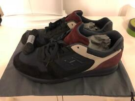 Hogan H321 Trainers UK11 - Red/Navy Suede