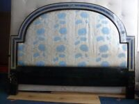 SUPER KING SIZE BED FRAME AND MATTRESS FOR SPARE OR REPAIR
