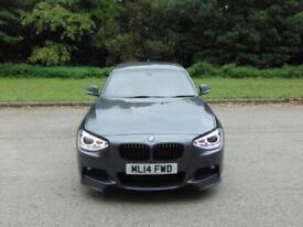 BMW 1 SERIES 1.6 118I M SPORT 5d 168 BHP FULL SERVICE HISTORY, MOT SEPT 19 (grey) 2014