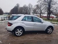 Mercedes-Benz ML-Class (2008) Comfortable ride, tidy handling, excellent engines 420 CDI,