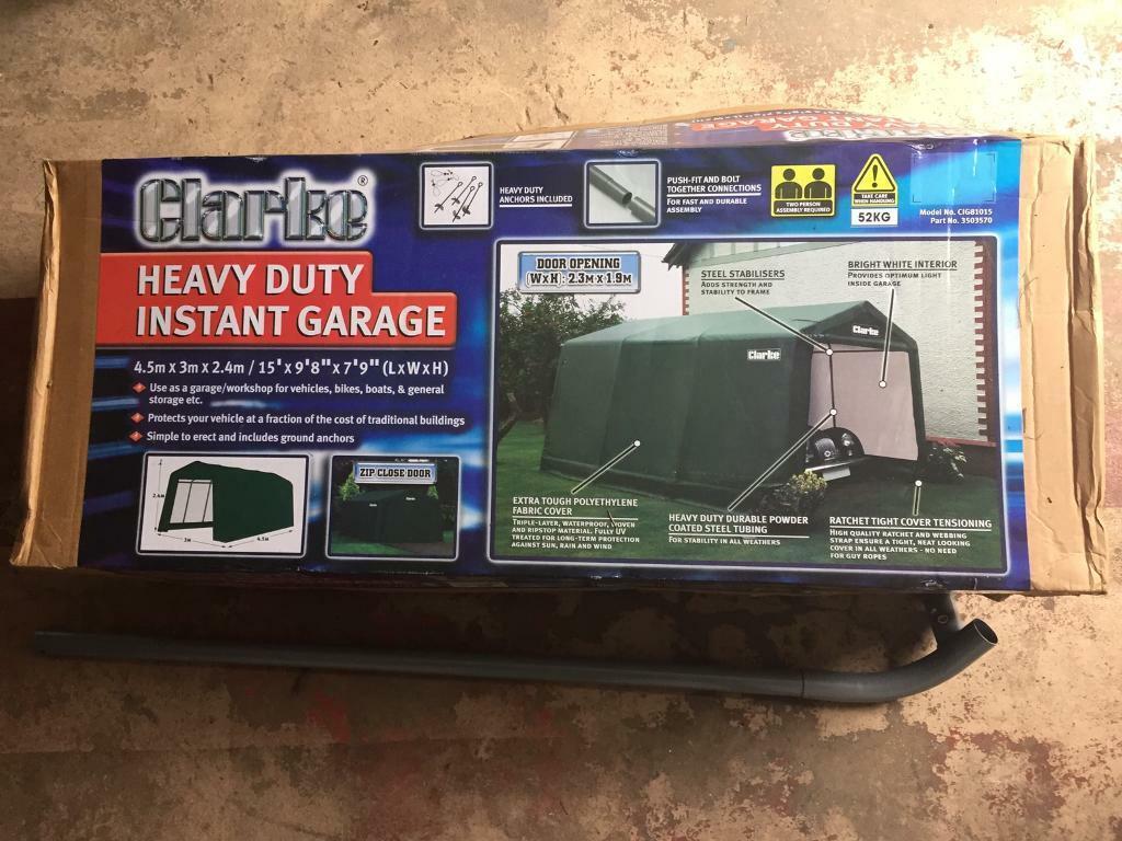 *Brand New* Clarke Heavy Duty Portable Garage/Workshop For ...