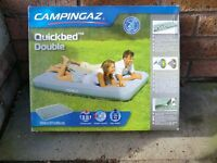 Campingaz Quickbed Double airbed, brand new.