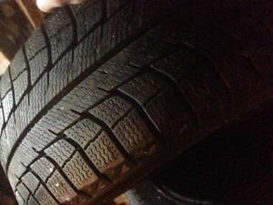 4 Michelin x-ice 215/60r16 winter tires