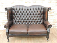 Sofa Queen Anne Chesterfield (Delivery)