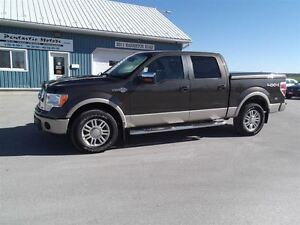 2009 Ford F-150 Lariat,CREW,5.4L,LEATHER,NEW TIRES !!