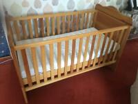 Silver Cross Sontiche Cot and First Bed