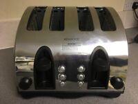 Kenwood Toaster 4-Slice Stainless Steel Unused