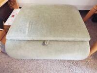 sewing box footstool