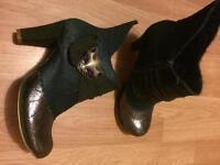 Irregular Choice Miaow Boots 40 *NEW*