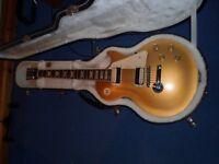 Guitar GIBSON USA GOLD TOP.
