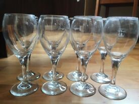 Wine Glasses 175ml set of 8