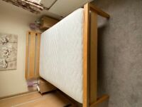 Double Bed complete with Relyon Airflow Memory 2000 Mattress