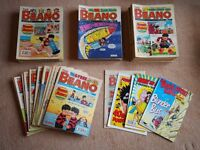 Assorted Comics (Beano, Dandy, 2000 AD, TMNT, Buster and more)
