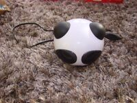 Panda USB Speaker with volume control.