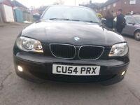 Bmw 120i SE petrol, 54 reg, automatic 150 BHP, PX considered.