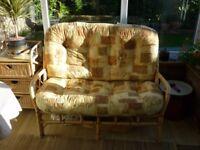 Bamboo 2-seater sofa
