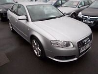 AUDI A4**2.0 TDi S-LINE**2007-07**GREAT SPEC**AWESOME LOOKER*SERVICE HISTORY*NEW MOT*FULL SERVICE*