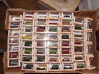 49 x Oxford Diecast N Guage Buses all different