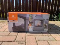 La Hacienda Square Outdoor Garden Fireplace BRAND NEW!