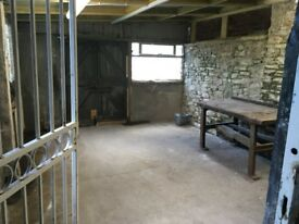 Workshop/Office/Storage - quirky space with parking and frontage