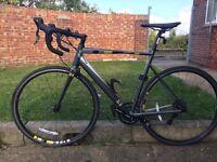 "Intrinsic13 22"" road bike - grey"