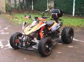 2016 250cc road legal quad