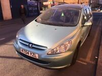 Automatic Peugeot 307 1.6 16v SE Estate 5dr Petrol with service histroy