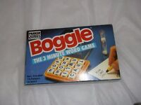 Board game - Boggle - The 3 minute word game - Ages 8 to adult.